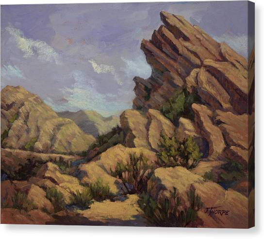 Vasquez Sunpocket Canvas Print