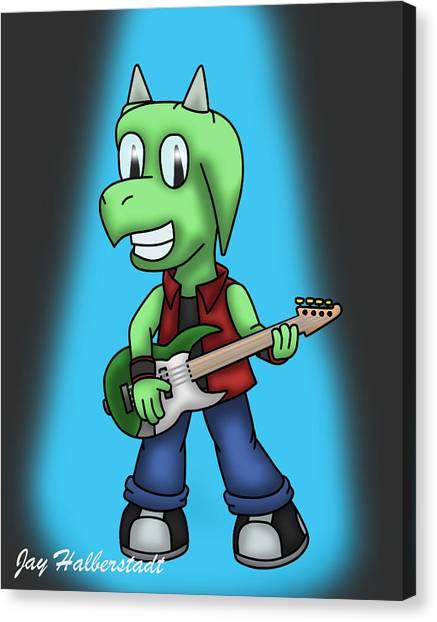 Jett Bass Canvas Print