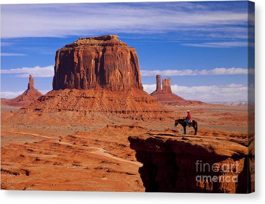 John Ford Point Monument Valley Canvas Print
