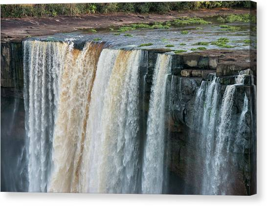 Georgetown University Canvas Print - Kaieteur Falls, Guyana by Pete Oxford