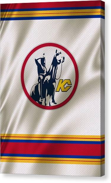 Scouting Canvas Print - Kansas City Scouts by Joe Hamilton
