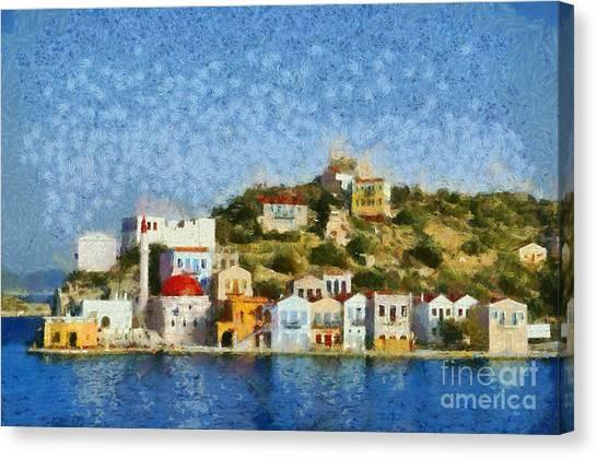 Kastellorizo Island Canvas Print