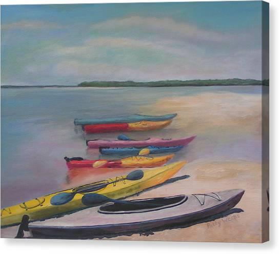 Kayaking Trip Canvas Print