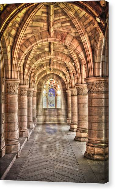 Kelso Abbey Canvas Print