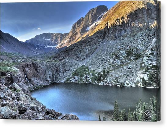 Kit Carson Peak And Willow Lake Canvas Print