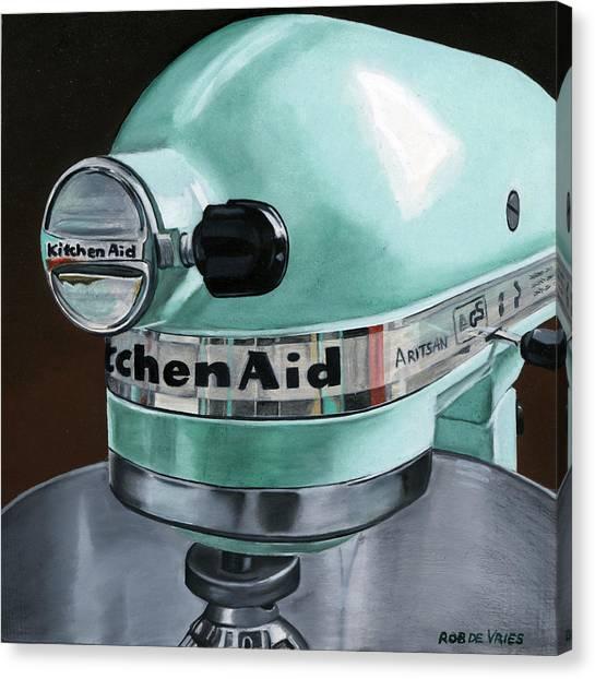 Kitchenaid Canvas Print