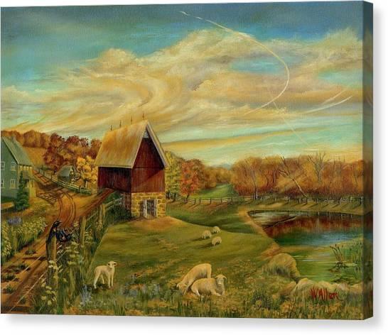 Kookaree Canvas Print by William Allen