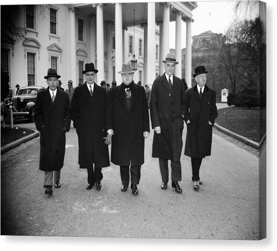Labor Leaders, 1938 Canvas Print by Granger