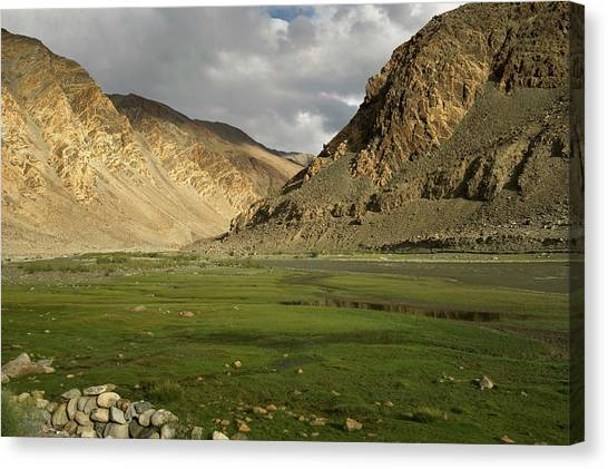 Karakoram Canvas Print - Ladakh, India The Landscapes by Jaina Mishra