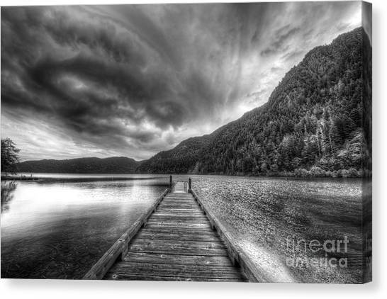 Olympic National Park Canvas Print - Lake Crescent In Olympic National Park by Twenty Two North Photography