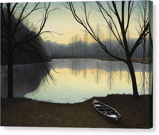 Lake Lene' Morning Canvas Print