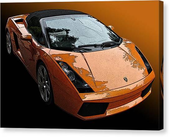 Lamborghini Gallardo Spyder Canvas Print