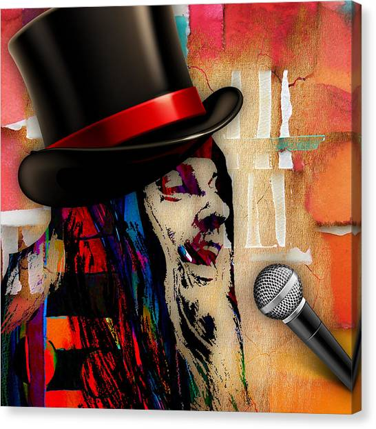 Leon Russell Canvas Print - Leon Russell Collection by Marvin Blaine