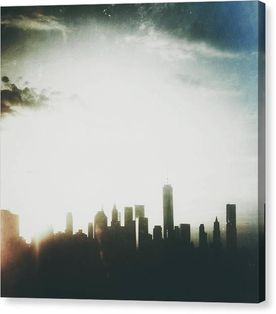 New York City Canvas Print - Light And Shadow by Natasha Marco
