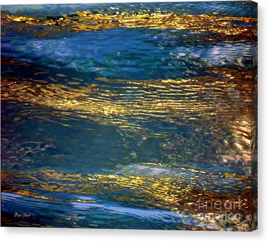 Light On Water Canvas Print