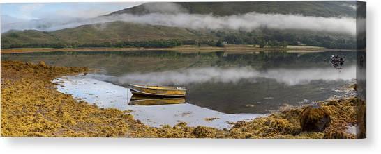Loch Eil Reflections Canvas Print