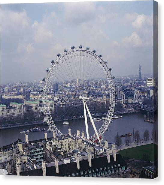 London Eye Canvas Print - London Eye by Skyscan/science Photo Library