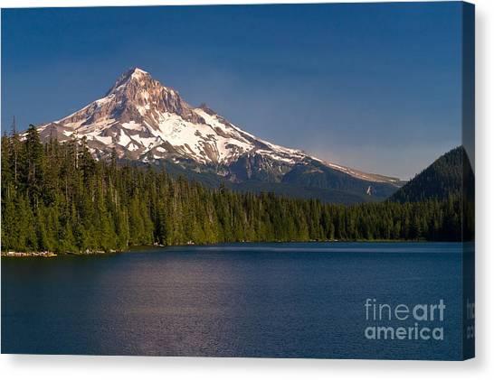 Mt. Hood Canvas Print - Lost In Summer by Matt Tilghman