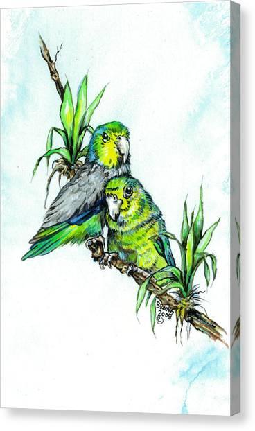 Love Me Tender. Canvas Print
