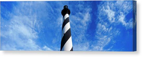 Cape Hatteras Lighthouse Canvas Print - Low Angle View Of A Lighthouse, Cape by Panoramic Images