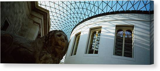 The British Museum Canvas Print - Low Angle View Of The Ceiling by Panoramic Images
