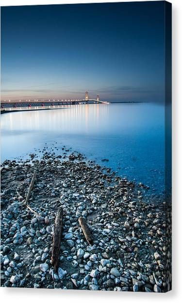 Mackinac Bridge Canvas Print