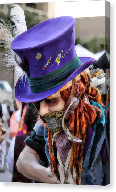 Mad Hatter Canvas Print by James Stough
