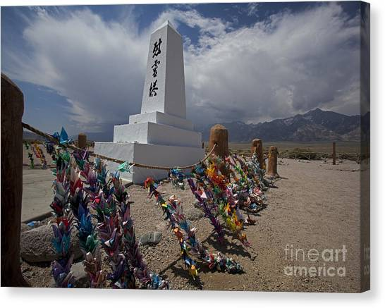 Manzanar War Relocation Center Canvas Print