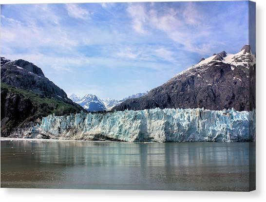 Margerie Glacier Canvas Print - Margerie Glacier by Kristin Elmquist