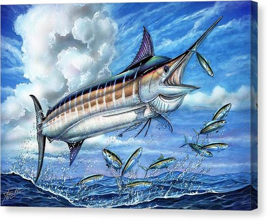Marlin Queen Canvas Print