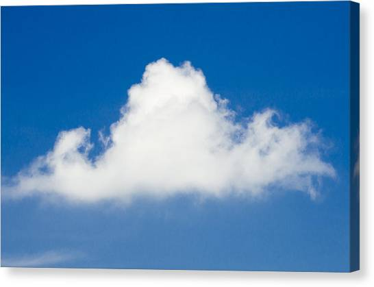 Marthas Vineyard Canvas Print - Marthas Vineyard Cloud by Steve Myrick