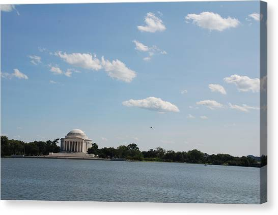 Memorial By The Water Canvas Print