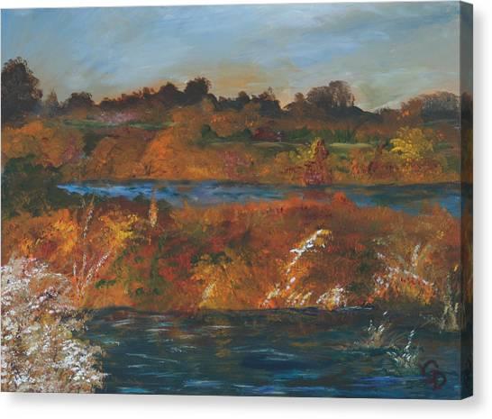Mendota Slough Canvas Print