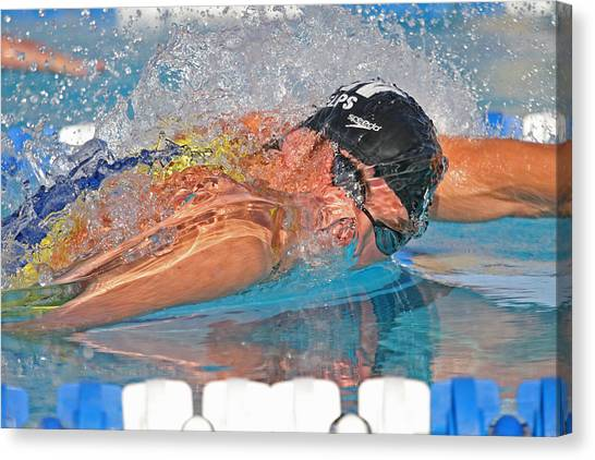 Michael Phelps Canvas Print