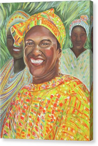 Mlady Goombay Canvas Print