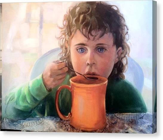 Mocha Latte Canvas Print