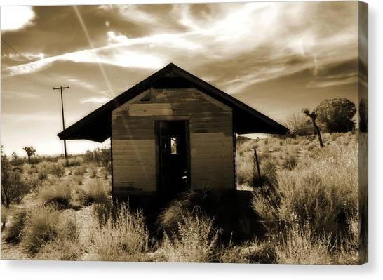 Mojave Desert Canvas Print