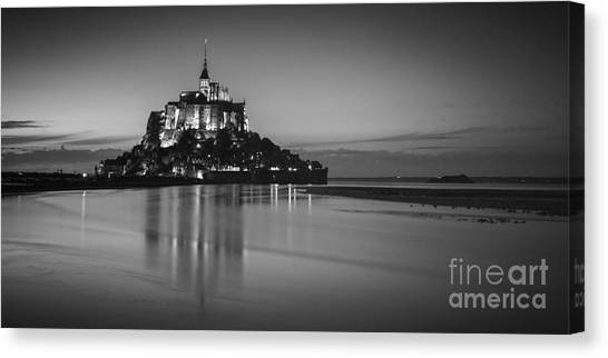 Mont-st-michel Normandy France Canvas Print