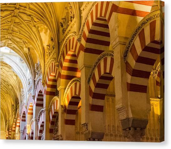 Mosque Cathedral Of Cordoba  Canvas Print by Andrea Mazzocchetti