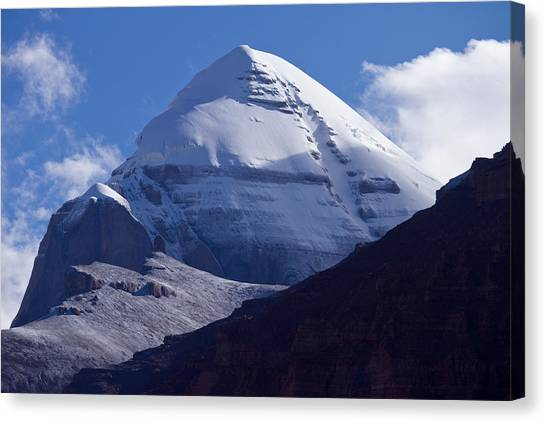 Mount Kailash Canvas Print