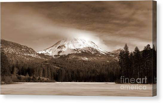 Mt. Lassen Canvas Print