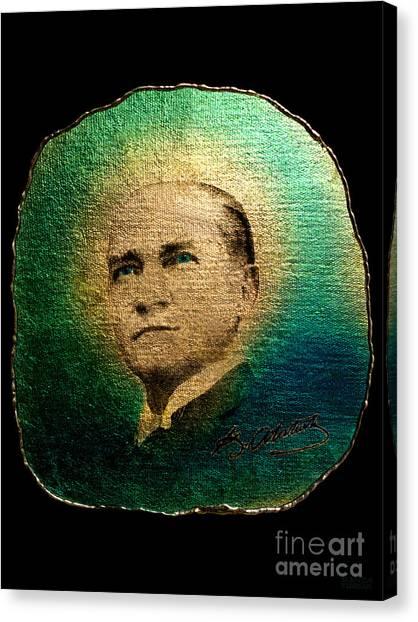Mustafa Kemal Ataturk Canvas Print