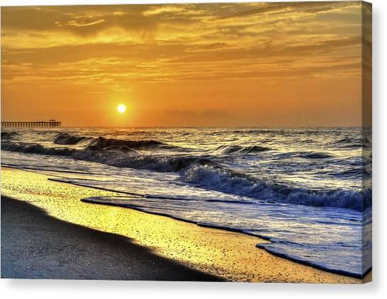 Myrtle Beach South Carolina Sunrise Canvas Print