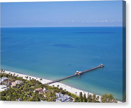 Naples Pier Canvas Print