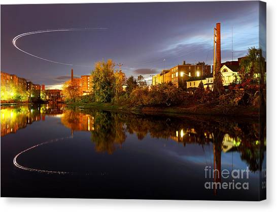 Nashua New Hampshire Canvas Print by Denis Tangney Jr