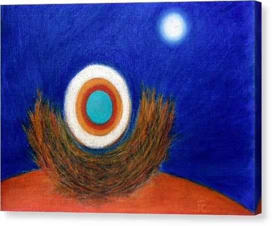 Nesting Moon Canvas Print