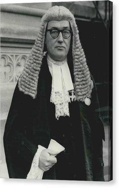 New Queen�s Counsel Sworn - In At House Of Lords Canvas Print by Retro Images Archive