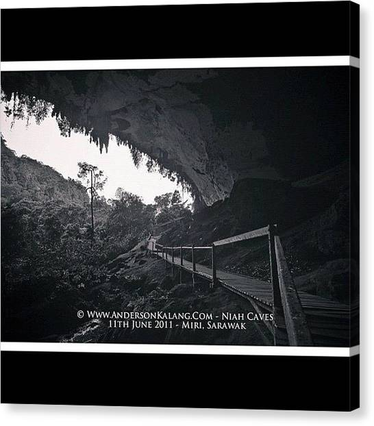 Limestone Caves Canvas Print - #niahcave #miri #sarawak #malaysia by Anderson Kalang