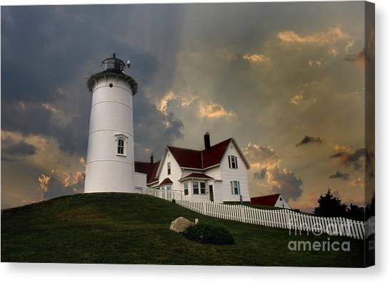 Nobska Lighthouse Color  Canvas Print