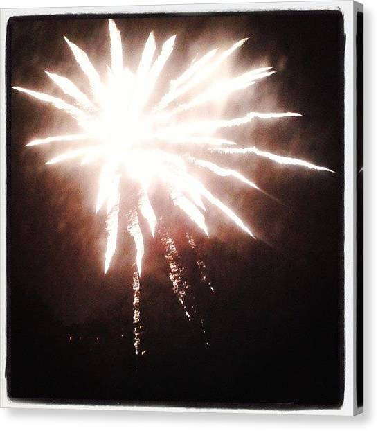 Fireworks Canvas Print - Firework by Jason Michael Roust